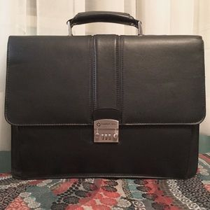 Leather Briefcase by Franklin Covey